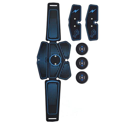 Shapewear Electroestimulador Muscular Abdominales Masajeador Eléctrico Cinturón,E Abdomen/Brazo/Piernas/Cintura Entrenador Muscular, 6 Modos de Simulación,10 Niveles Diferentes