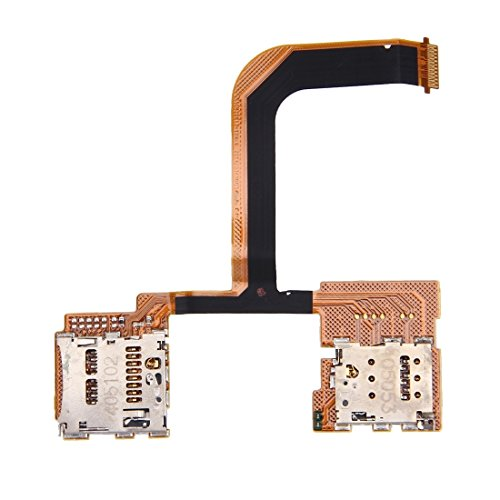 TANGJIANCHENG-PHONE ACCESSORIES Profesional SD Card Socket + SIM Card Socket Compatible con HTC One Mini 2 / M8 Mini Partes