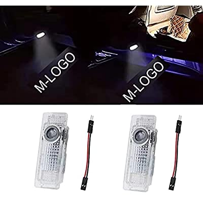 SVRVGV LED Car Door Light Logo Light Projector Ghost Shadow Courtesy Welcome Lights Logo Accessories Compatible with for X1/X3/X4/X5/X6/3/4/5/6/7/Z/GT Series?2-Pack?