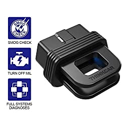 powerful Thinkcar 1S OBD2 Bluetooth Scanner, Complete OBD2 Features + Complete Diagnostic Car Code Reader…