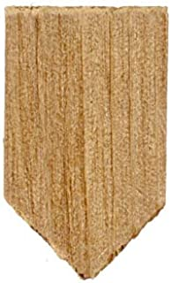 Factory Direct Craft Package of 500 Pieces Dollhouse Miniature Cedar Diamond Shingles for Holiday Home Décor, Crafting and Displaying