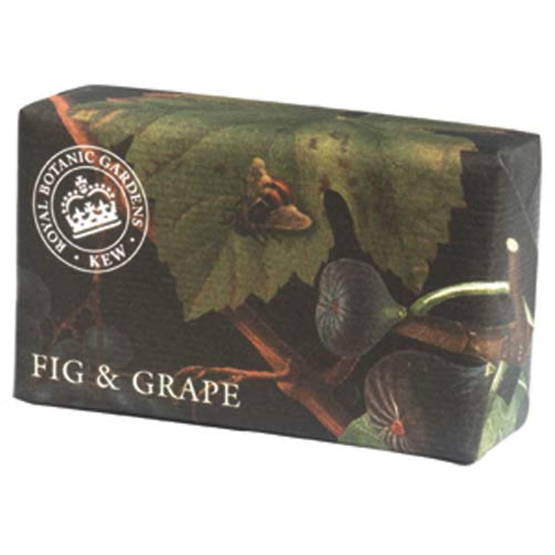 乳白ナース単位English Soap Company イングリッシュソープカンパニー KEW GARDEN キュー?ガーデン Luxury Shea Soaps シアソープ Fig & Grape フィグ&グレープ