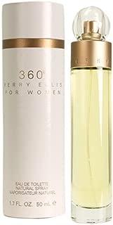 Perry Ellis 360 By Perry Ellis For Women. Eau De Toilette Spray 1.7 Ounces