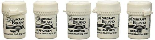 Brusho by Colourcraft Brusho Crystal Set 24 Color Colour (BRU85001)