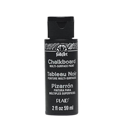 Plaid:Craft FolkArt Multi-Surface Chalkboard Paint 2oz-Black