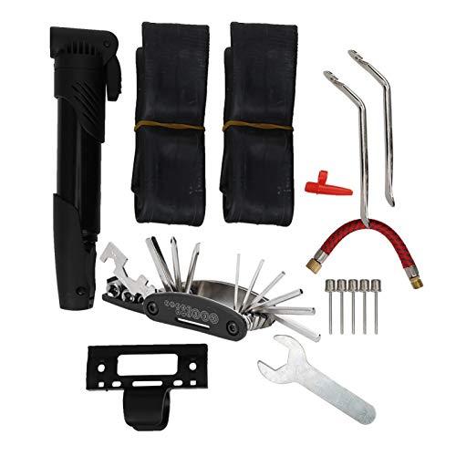 SALUTUYA Herramienta de reparación de neumáticos de Bicicleta, Accesorio de Scooter, envejecimiento Lento Universal, para Scooter eléctrico