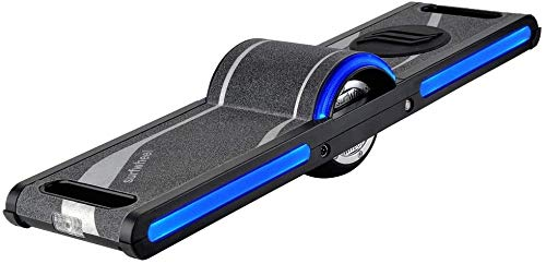 Surfwheel SU/HX One +4 Wheels Electric Skateboard (One Wheel Hoverboard) - with Patented Safety...