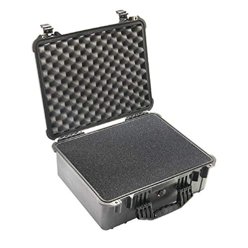 pelican carryon rollers Pelican 1550 Camera Case With Foam (Black)