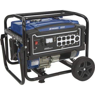 Powerhorse Portable Generator - 4000 Surge Watts, 3100 Rated Watts