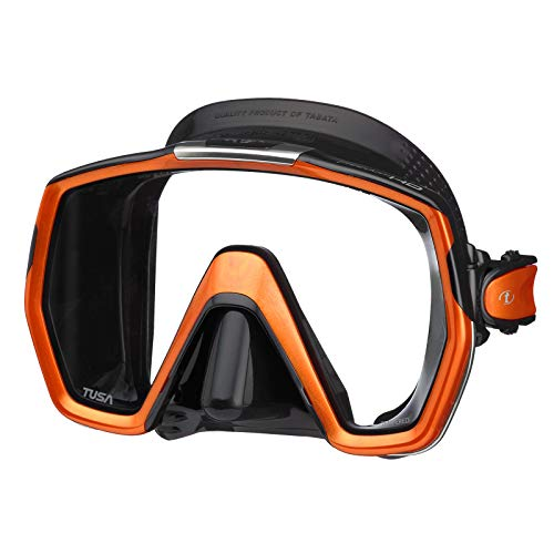 Duikbril Tusa Freedom HD - eenglas duikmasker snorkelmasker volwassenen profi (M-1001)