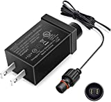 12V9W LED Class 2 Power Supply, IP44 Waterproof LED Adapter Driver Transformer Replacement for Christmas Tree, String Light, Projector Light, Lawn Lamp, Inflatable Device