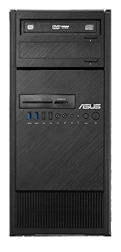 ASUS ESC300 G4-12456002B - Ordenador de sobremesa (Intel Xeon E3-1245 V6, 8 GB de RAM, 1 TB, NVIDIA Quadro P600, Windows 10 Professional), Negro