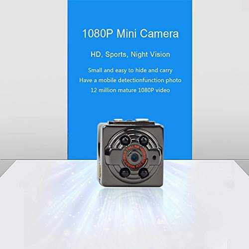 SQ8 Mini DV Camera 1080P Full HD TF Card Voice Recorder IR Night Vision Car DVR Camera Dash Micro Cam Video Recorder Camcorder for Home Security