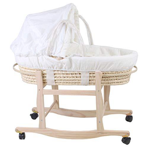 Xiao Jian- Nouveau-né lit de bébé lit Berceau bébé bébé Panier Portable Portable sur inclinable Panier Panier Chaise berçante Chaise berçante bébé (Couleur : C)