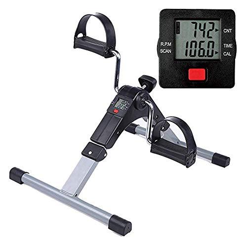 DYWOZDP Faltbare Mini Heimtrainer - Kompakter beweglichen Arm/Bein Übung Zyklus mit LCD-Display und einstellbarem Widerstand - Ideal zur Verbesserung der Muskelkraft und Koordination