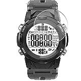 Vaxson 3 Unidades Protector de Pantalla de Cristal Templado, compatible con LENOVO C2 Smart Watch SmartWatch, 9H Film Guard Película Protectora [No Carcasa Case ]