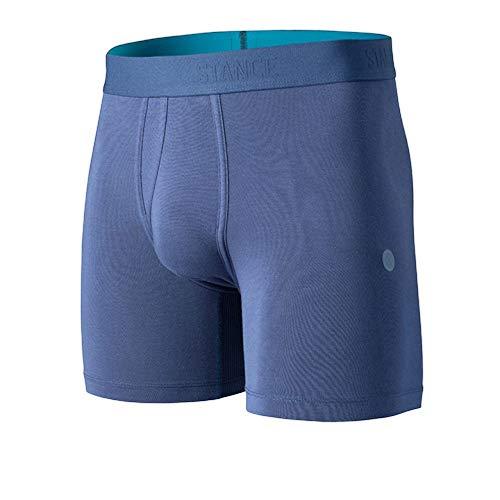 Stance - Calzoncillos tipo bóxer para hombre (15,2 cm) - Azul - X-Large