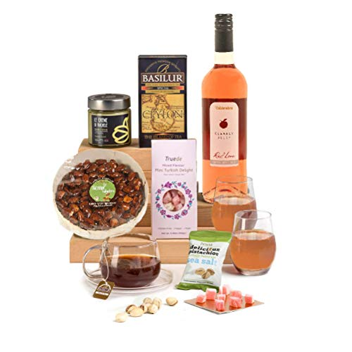 Hay Hampers Rose, Pistachio & Nuts - Halal Hamper Gift for Eid al Adha