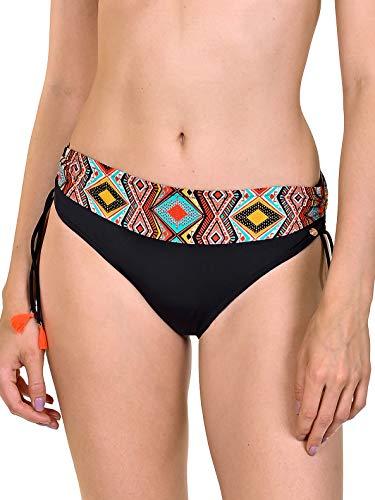 Lisca Damen Haiti Bikinislip 41415, Schwarz, 46