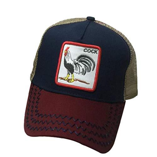Hip Sombrero Animales Cocodrilo Bordado Gorra De Béisbol Hop Camionero De La Malla Sombrero con Ajustable para Unisex