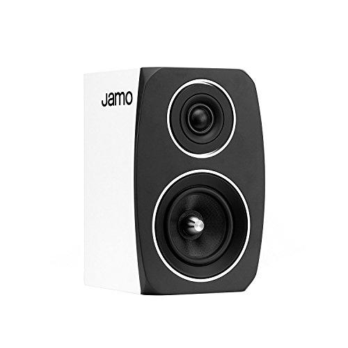 Jamo 1060862 & luidspreker voor MP3 en iPod, zwart, wit