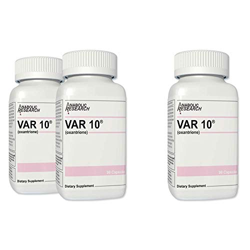 VAR 10® - Buy 2 Get 1 Free (Testosterone Enhancement) - Increase Speed & Strength, Lean Muscle Building & Toning - 3 Month Supply from Anabolic Research™