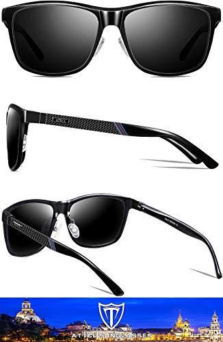 ATTCL Uomo Polarizzate Occhiali da sole Al-Mg