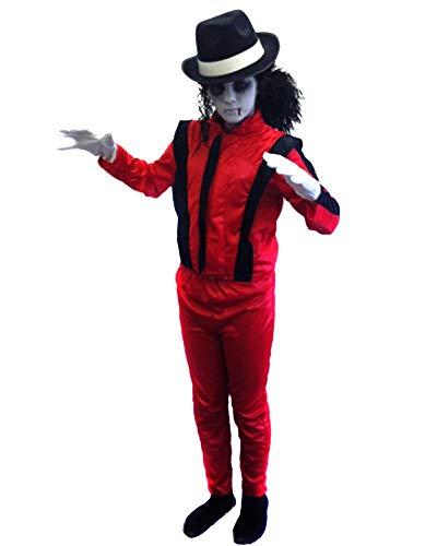 ILOVEFANCYDRESS Kinder-Kostüm, Design: Zombie, inspiriert von Michael Jackson, für Jungen und Mädchen, 7-9Jahre