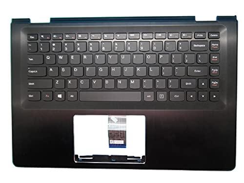 ZGQA-GQA Nuevo Teclado de Repuesto para portátil Bisel Compatible con Lenovo Compatible con Yoga 500-14IBD Flex 3-1470 Flex 3-1435 Flex 3-1475 Flex 3-1480 Compatible con Yoga 500-14ISK Comp