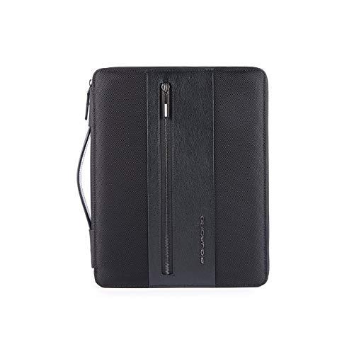 """Piquadro - Portablocco Formato A4 Porta Ipad10,5''/ipad 9,7"""" Con Auricolari In Dotazione Brief - Pb4594br"""