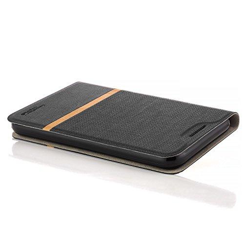 zanasta Tasche kompatibel mit Huawei Nova 2 Plus Hülle Flip Case Schutzhülle Handytasche mit Kartenfach Schwarz - 2