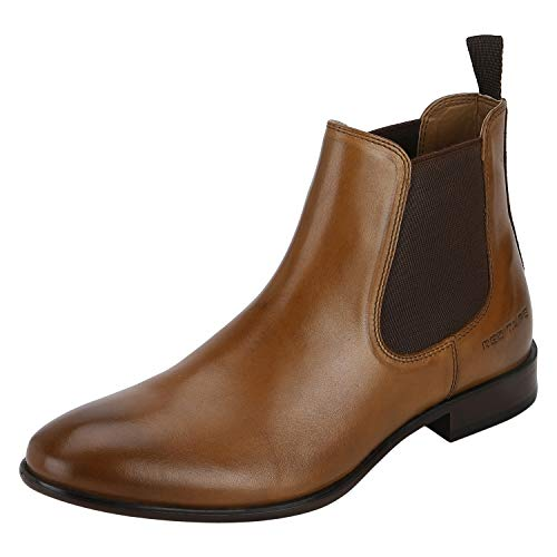 Red Tape Men's Leather Boots