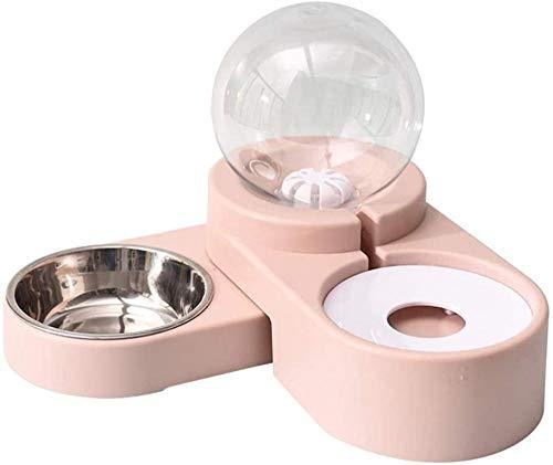 A-Generic Dispenser di Acqua per Animali Domestici Ciotole per Cani Fontana di Acqua per Gatti Alimentatore Automatico per Animali Domestici per Cani Gatti-A