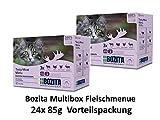 Bozita Multibox Fleisch-Menü   24 x 85g Vorteilspackung