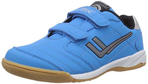 Killtec Unisex-Kinder Genua Jr Hallenschuhe, Blau (neon blue / 00838), 27 EU