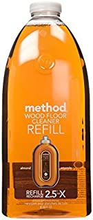 Method Squirt and Mop Wood Floor Cleaner Refill, Almond, 68 Ounce by Method