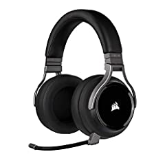 Experience uncompromising sound quality and immersive 7. 1 surround Sound with a matched pair of precisely tuned 50 millimeter high-density neodymium speaker drivers, delivering a frequency range of 20hz-40, 000Hz – double that of typical gaming head...