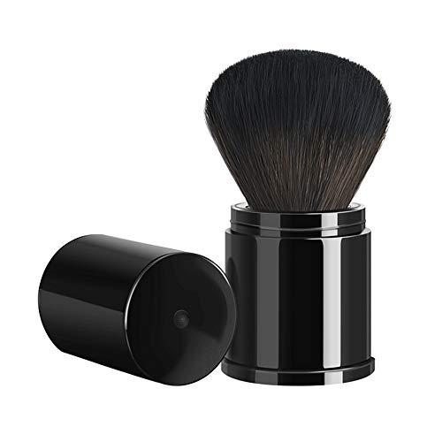 NCTM Pinceau de Maquillage Portable télescopique Pinceau à Poudre Profession Quotidienne Maquillage de Masse Population Noire Fine Voyage