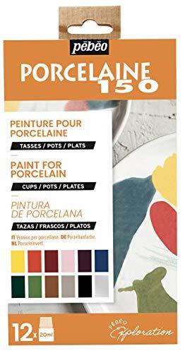 Pebeo JUEGO EXPLORER, Colores variados, 12X20ML