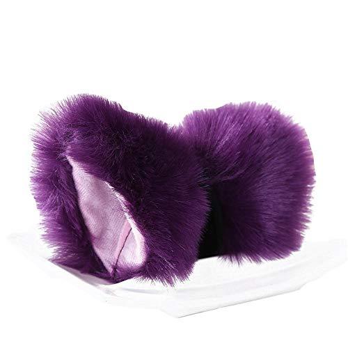 Cat Ears Hairpin Cosplay Almas Dance Fox Clip de Pelo del Oído para el Partido