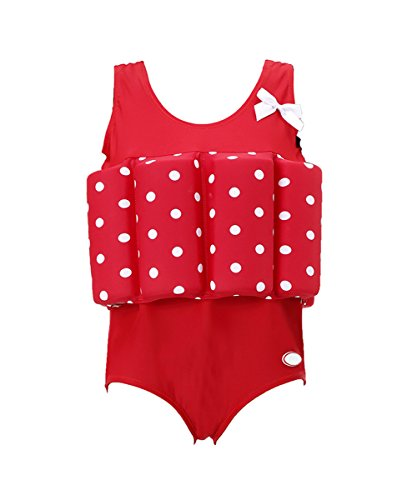 Zerlar Floatation Swimsuits with Adjustable Buoyancy for 1-10 Years Baby Girls