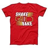 Shake and Bake Talladega Nights Ricky Bobby Mens Shirt Large Red