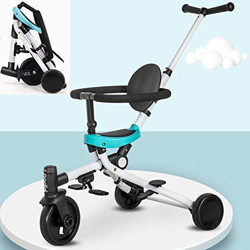 AP.DISHU kinderwagens kinderstoelen, kinderwagen door kinderen lichtgewicht compacte vouwfiets voor kinderen, geschikt voor 1-6 jaar oude babyfiets