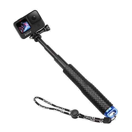 AFAITH Palo Selfie para GoPro Hero 9 8 7Black, Ajustable Impermeable Extensible...
