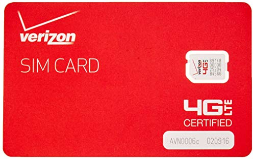 Verizon Nano Sized SIM Card 4G LTE, 4FF NFC - Samsug Galaxy S6, S6 Edge, Android