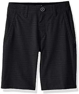 O'Neill Boys Locked Stripe Quick Dry Hybrid Boardshort Asphalt 22 [並行輸入品]