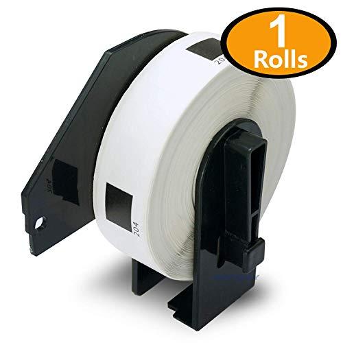 1 Rollen kompatibel Brother P-Touch DK-11202 62mm x 100mm Adress 300 Etikettens per Roll Reusable // Refillable Cartridge