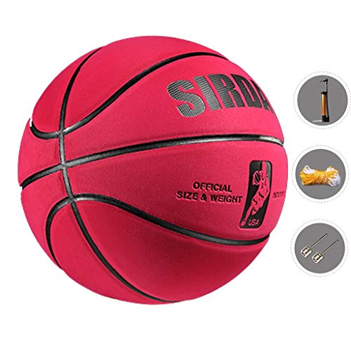 Great Deal! YE ZI Basketballs- Standard Basketball Indoor and Outdoor No. 7 Basketball Size 9.7 inch...