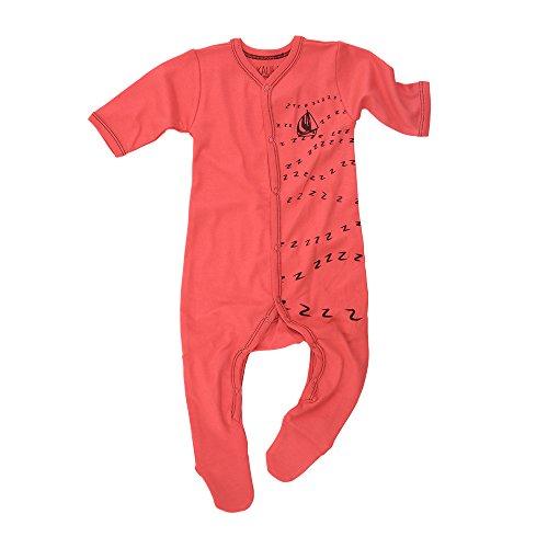 Kalila Organics vêtements nouveau-né/bébé certifié Bio - Unisex Pyjama avec pieds (18-24M)