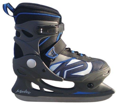 K2 Ice Skate Kinder Schlittschuh Merlin Jr. , mehrfarbig, 31-33